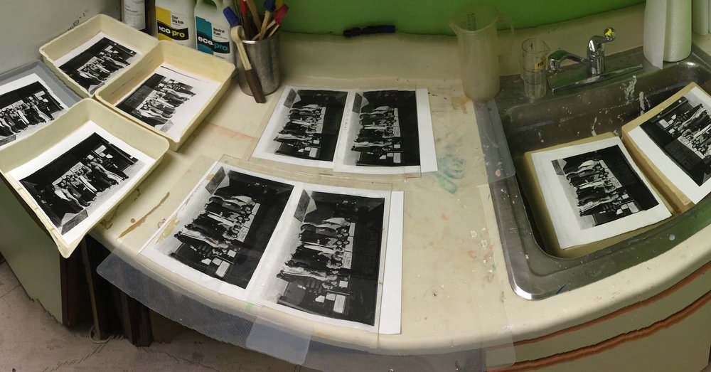 Darkroom: Seeing double. Panoramic aftermath.