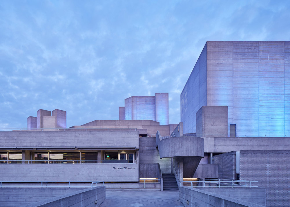 NATIONAL THEATRE, LONDON: DENYS LASDUN