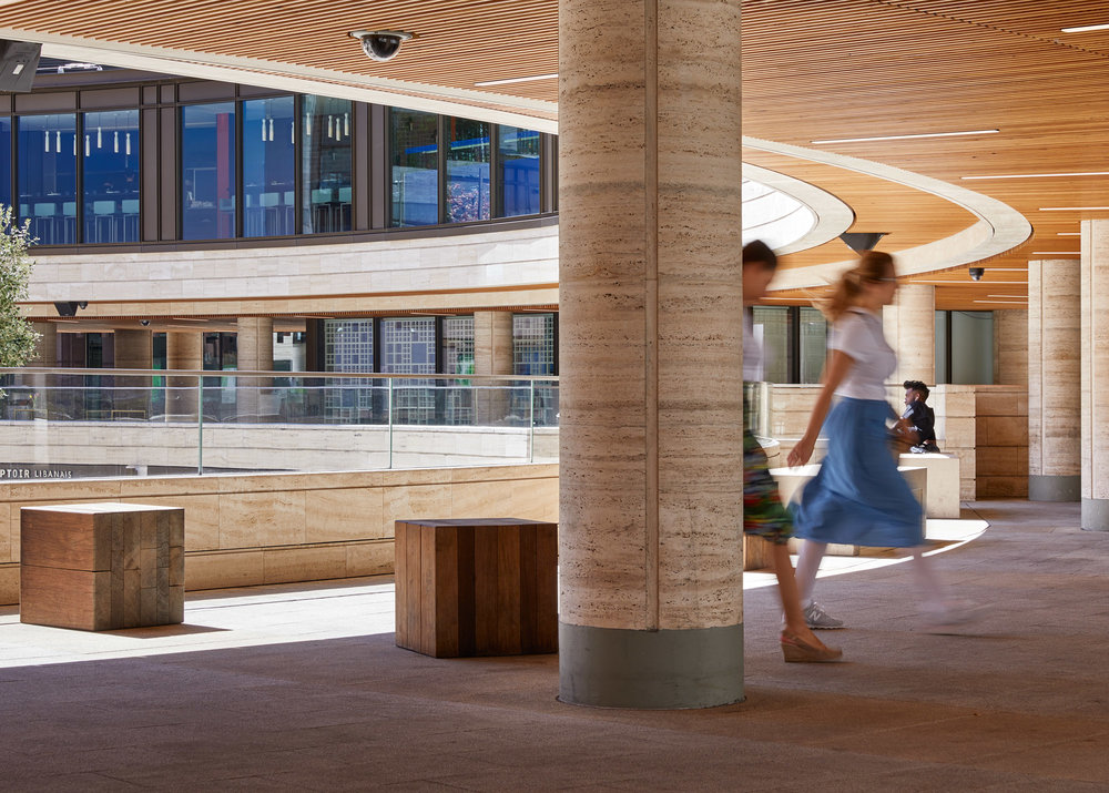 BROADGATE CIRCLE, LONDON: ARUP ASSOCIATES