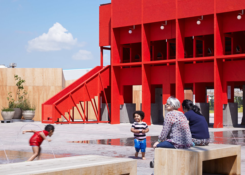 THE RED PAVILION, LONDON: CLANCY MOORE