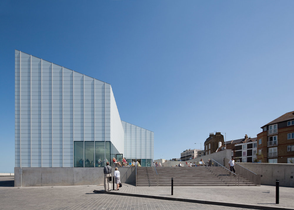 TURNER CONTEMPORARY, MARGATE: DAVID CHIPPERFIELD