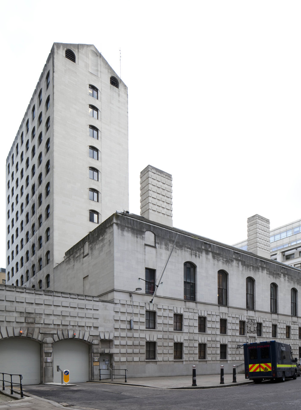 WOOD STREET POLICE STATION - LONDON: McMORRAN & WHITBY