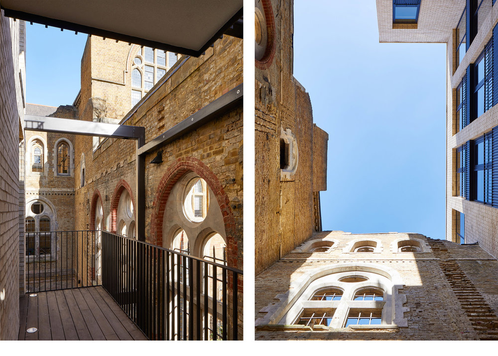 PAUL STREET, SHOREDITCH: STIFF & TREVILLION ARCHITECTS