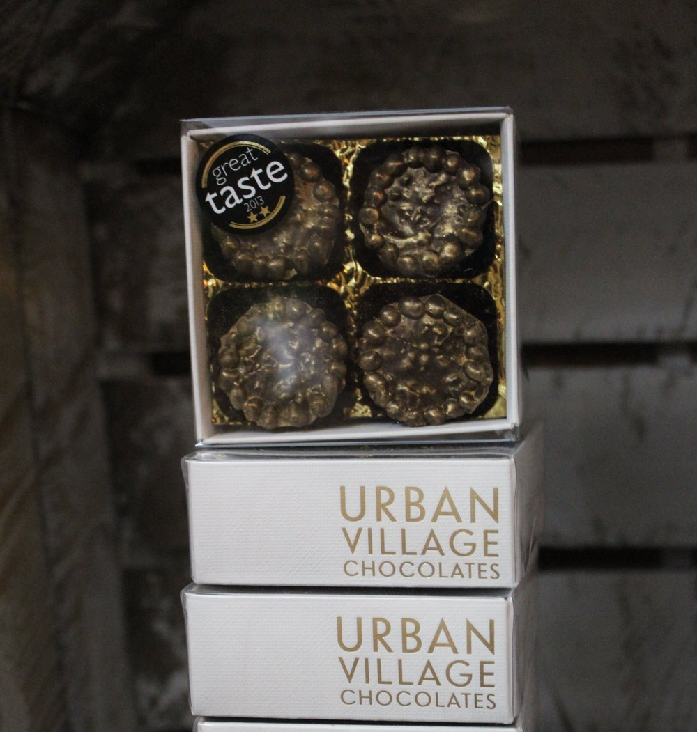 Urban Village Champagne & Popping Candy Caramels