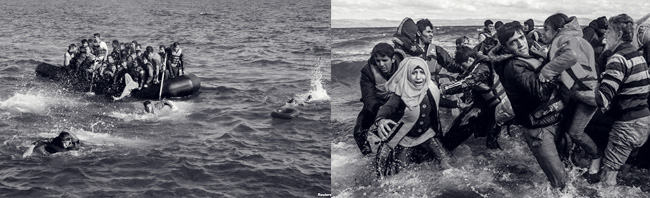 Tragedia dei migranti.