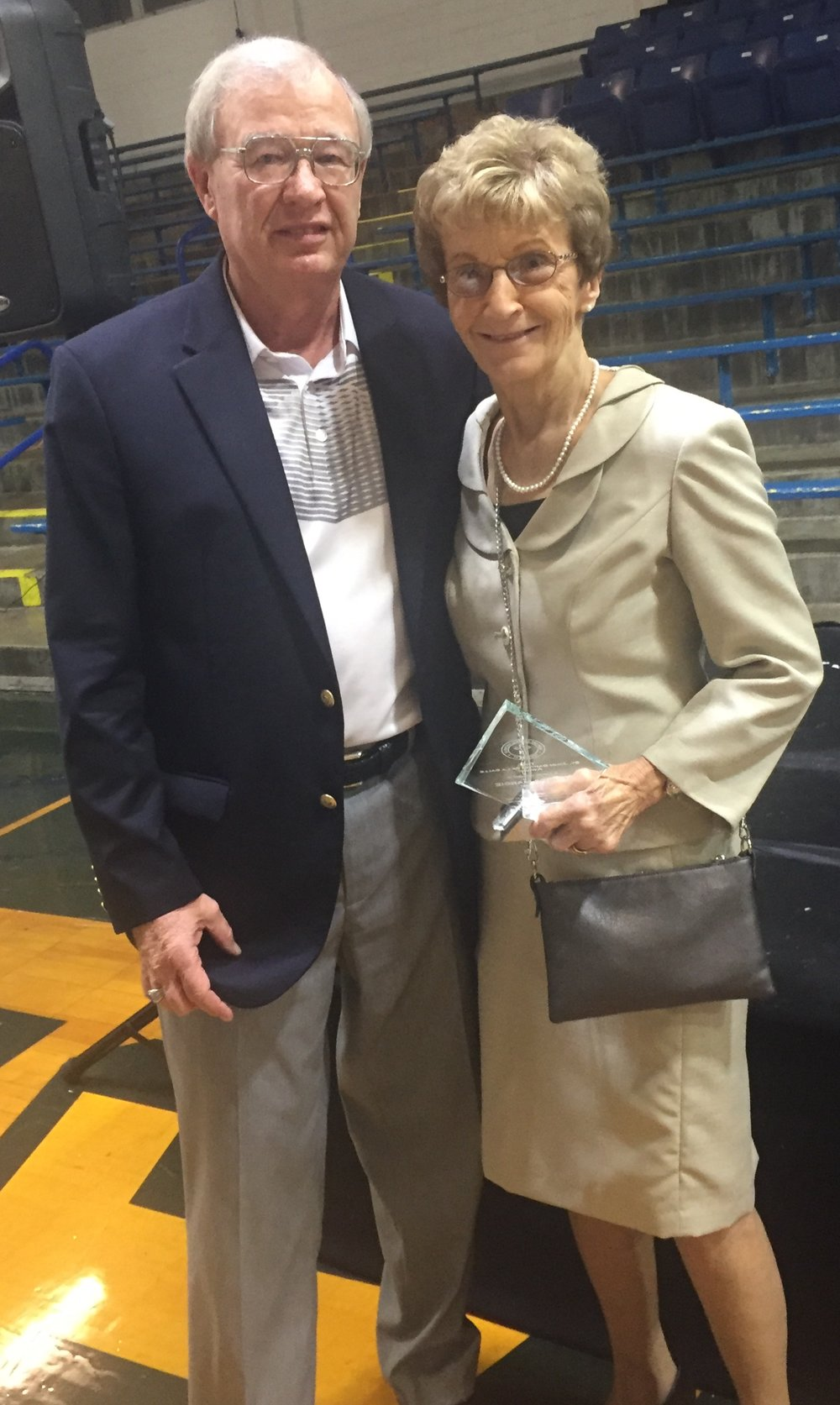 Denny & Margie Kehoe dedicated both time, talent and treasure to Newport Central Catholic.
