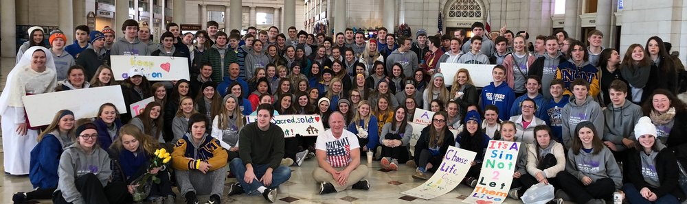Recipients of the Schutzman Leadership Scholarship are typically students who annually attend the March for Life in D.C., and engage in various local Pro-life activity opportunities.