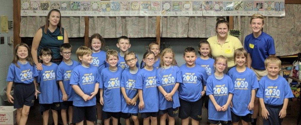 St. Therese First Grade Students