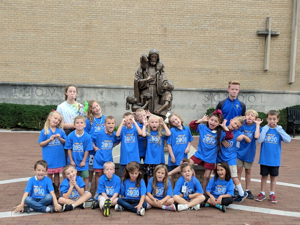 St. Thomas First Graders.