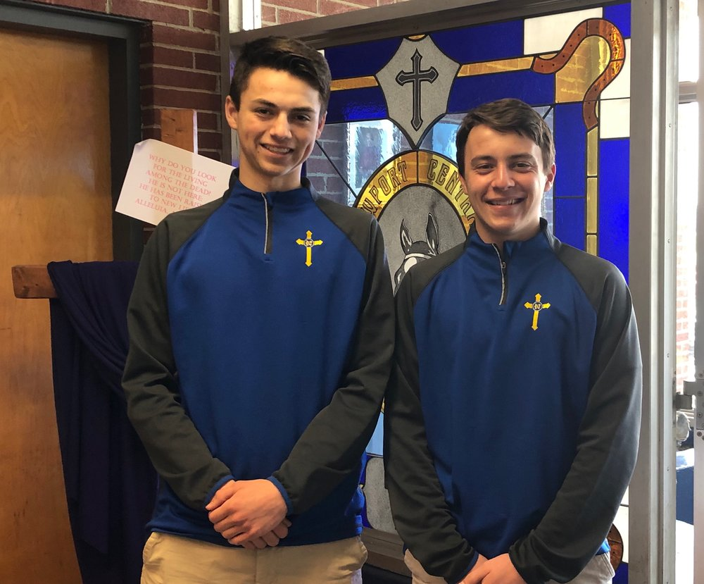 Jacob Frisk and Jonah Krebs have been selected to represent NCC in the Governor's Scholar Program this summer.