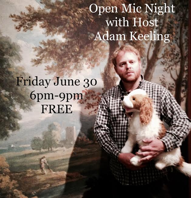 Musician,  Adam Keeling , will host our very first Open Mic Night at The River House. Open Mic Nights are  FREE  events. Anyone can get on stage at Open Mic Nights (Note: We are an inclusive and family friendly venue so please keep your performance respectful and appropriate).Come and share your music, poetry, comedy, or other form of performance art on The River House stage.   Participants must sign up for a 20 minute performance block, sign ups will begin by phone or in person as early as  5pm  on Open Mic Fridays.  Phone: (304) 856-2440