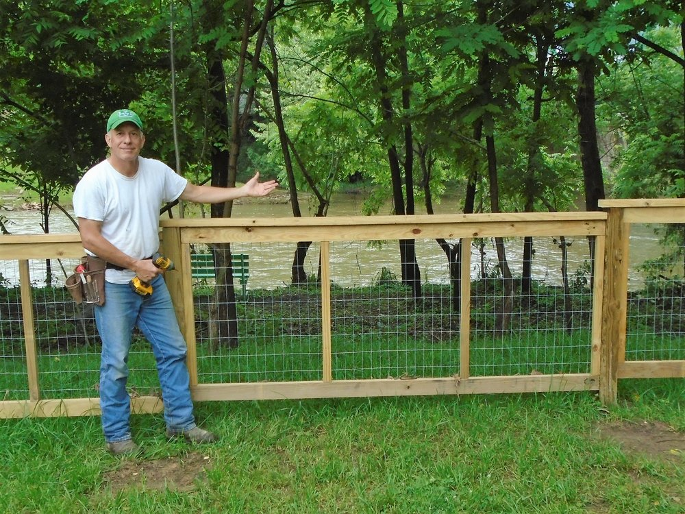 Sponsor a Fence section:   we have 9 fence sections available for naming rights (sponsorship).  $75 per section. A small sign on each fence section will acknowledge the donor.  Or sponsor  in honor of someone special. More info, email:    arts@theriverhousewv.org