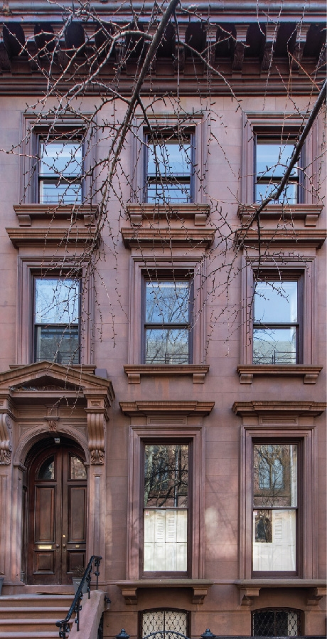 The Brooklyn Heights Association (BHA) Proudly pres­ents its first Designer Showhouse in this classic 150-year-old brownstone, hosted by Karin and Saul Cooper, owners since 1960.