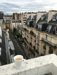 Cafe au lait in Paris.