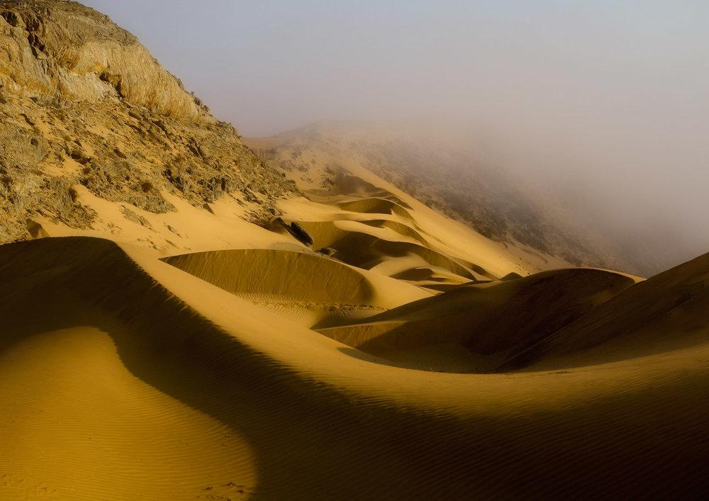 Pentax K100D + 18-55 kit lens. Dunes on the Kunene river, Namibia/Angola border