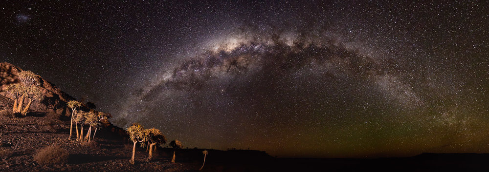 Milky way over the Northern Cape
