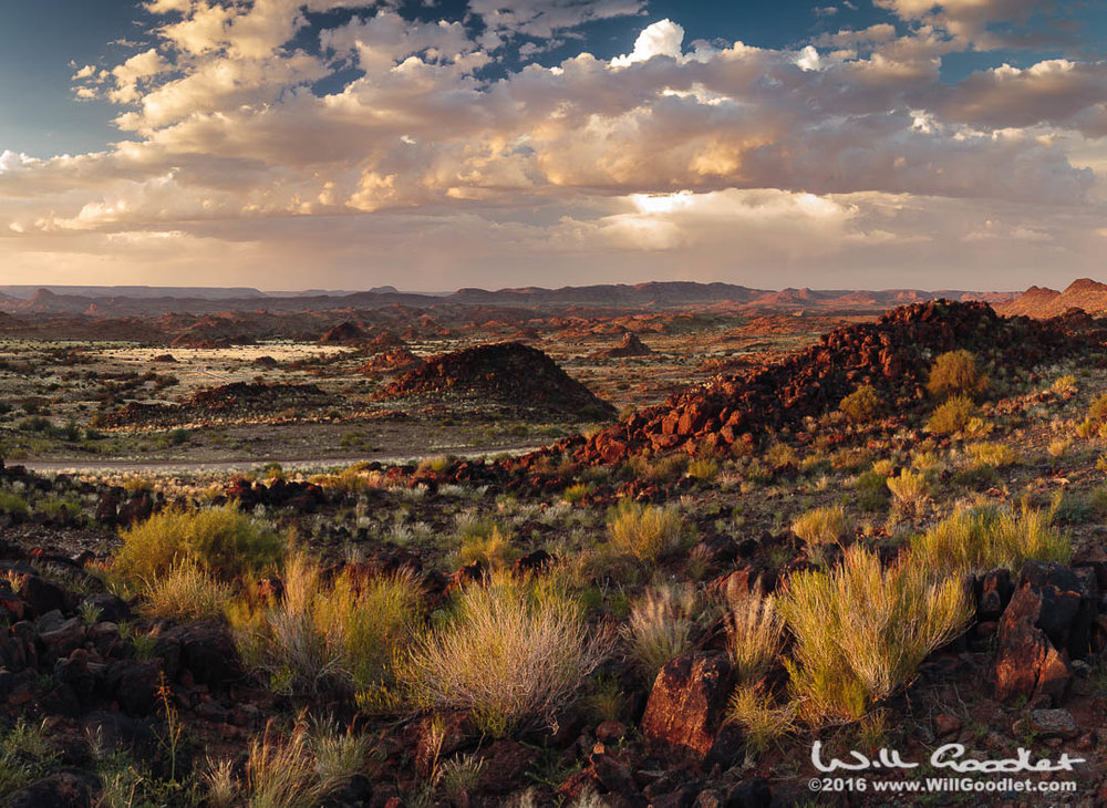 Black Hills Panorama, Upington, South Africa.