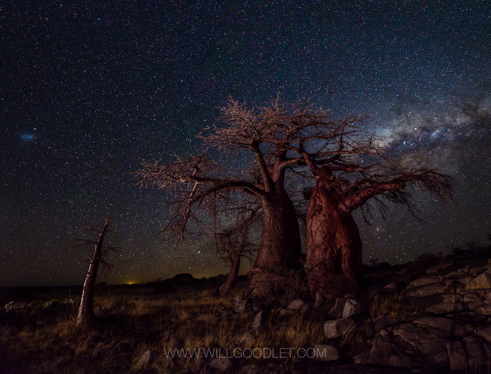 The Big Three, Canon 5D Mark iii + Sigma 14-24 F2.8 Art - ISO 10000, F2.8, 8 Seconds (Stitched stacks of 4)