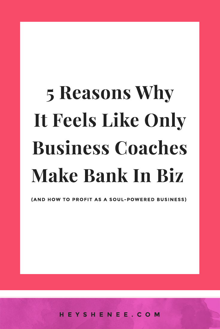 5 Reasons Why Business Coaches Make Bank