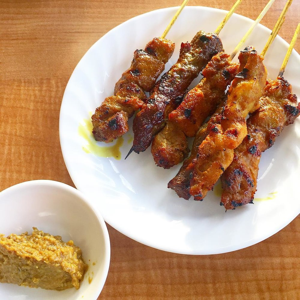 Mixed Satay Skewers