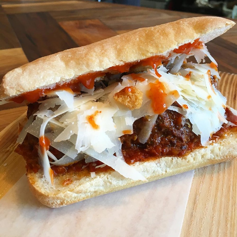Meatball Sandwich (Old Recipe)