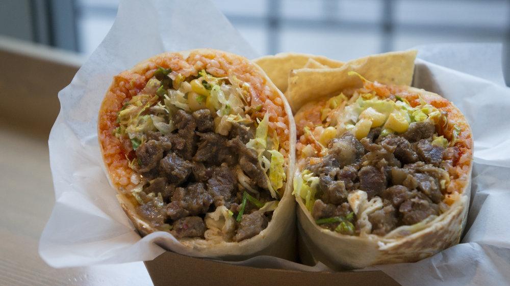 BBQ Short Rib Burrito | $9.95
