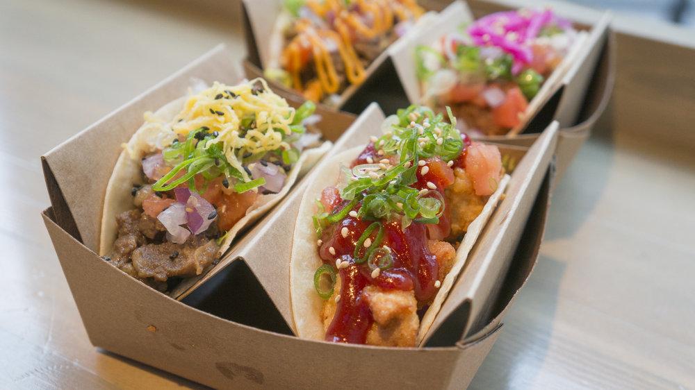 Tacos | $2.95-3.45 each