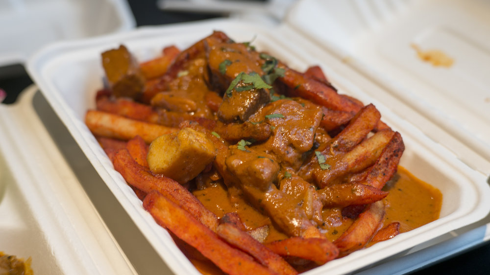 Butter Chicken Poutine | $10