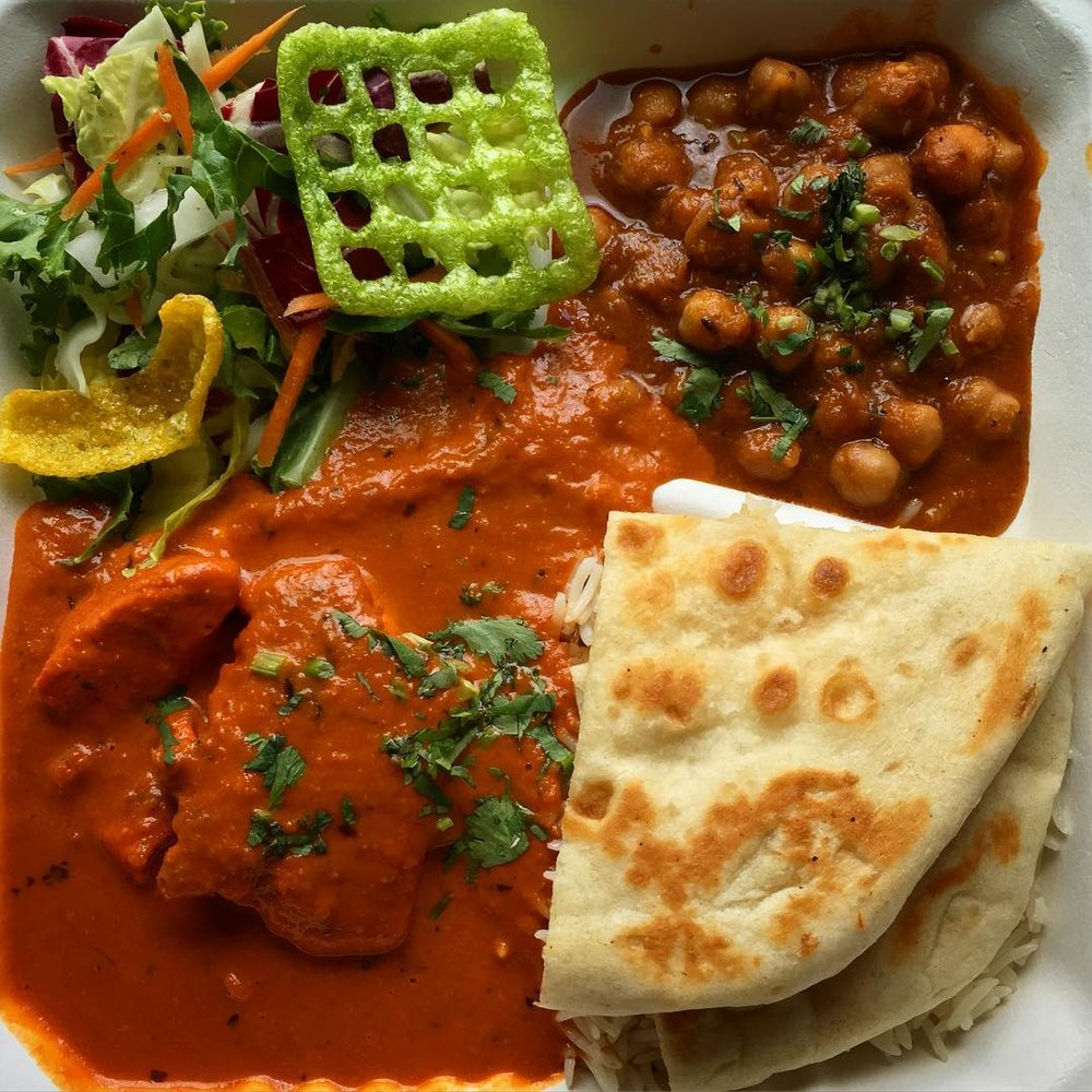 Butter Chicken Combo | $13