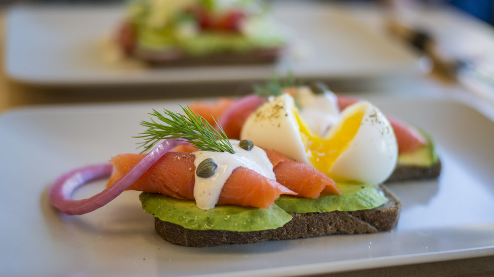 Smoked Salmon Toast | $14.95