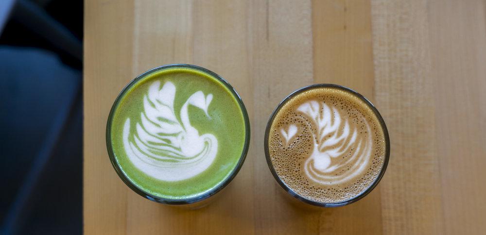 Matcha Latte | $4.5 | Cappuccino | $4