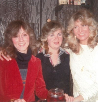 Left to right: Joyce, Pat, and Rita, 1975