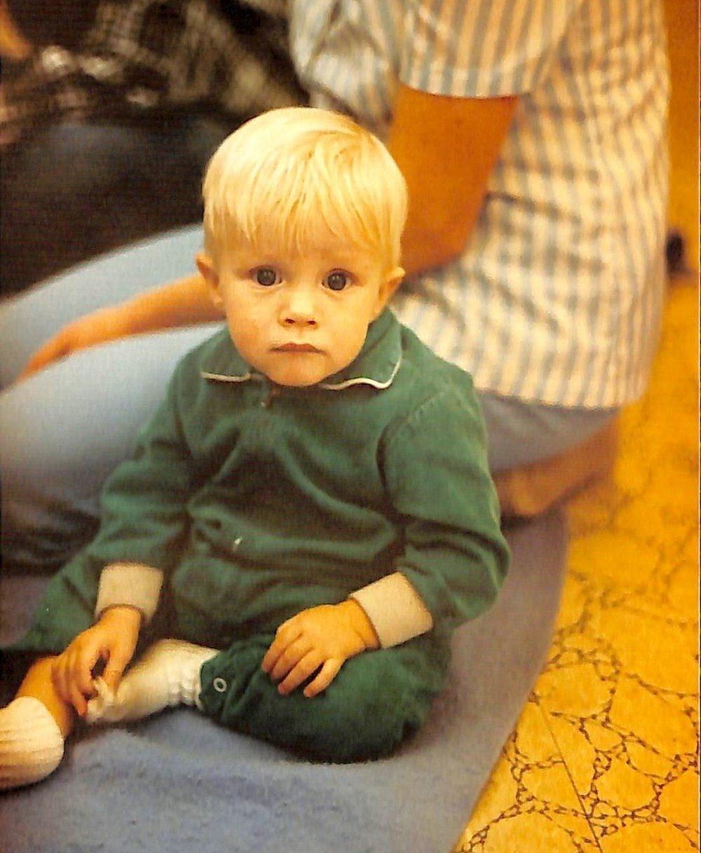 Chris as an adorable baby....
