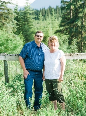 My husband Harold and me on our 30th Anniversary!
