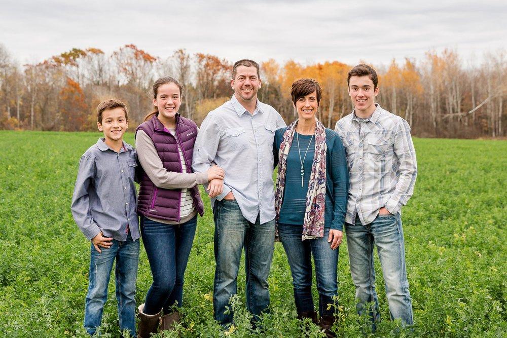 Left to right: Dawson, Jordana, Josh, Sheri, Emmett