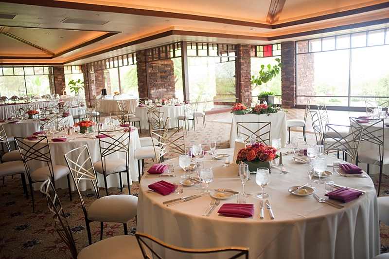 Venue:  Red Rock Country Club  | Centerpieces:  Enchanted Florist