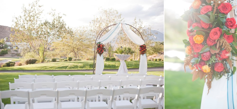 Venue:  Red Rock Country Club  | Florals:  Layers of Lovely