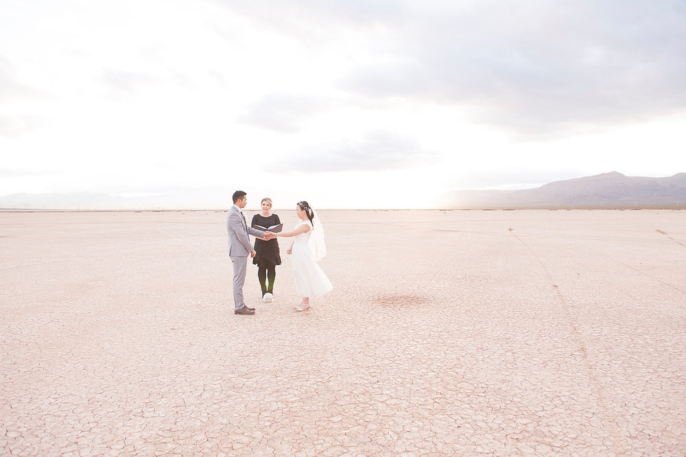 Location: Dry Lake Bed | Officiant:  Peachy Keen Unions