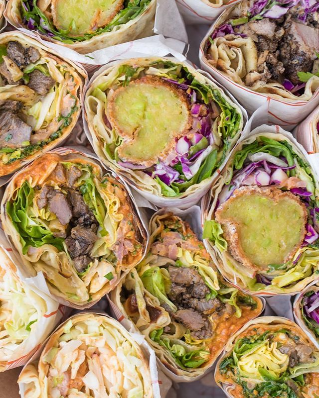 Be the cool person that brings Bäcorritos to the office. Check out our new catering menu! Link in biö.