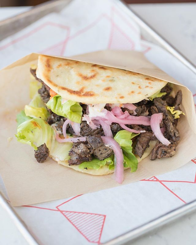 Grab a grilled steak Bäco! They are great for lunch meatings.