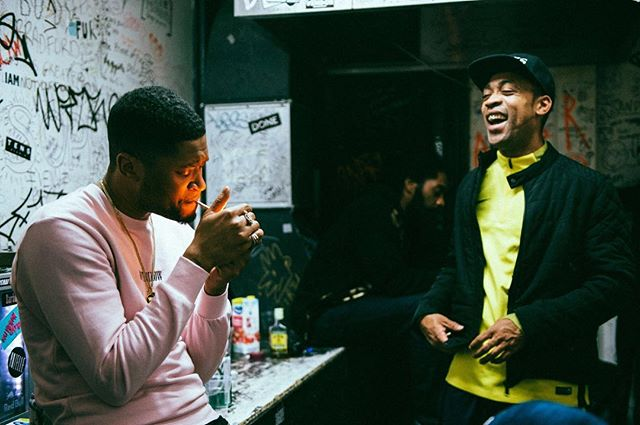 Frisco & Wiley backstage at The Den  #LongLiveTheDen  Pic by @jordhughesphoto