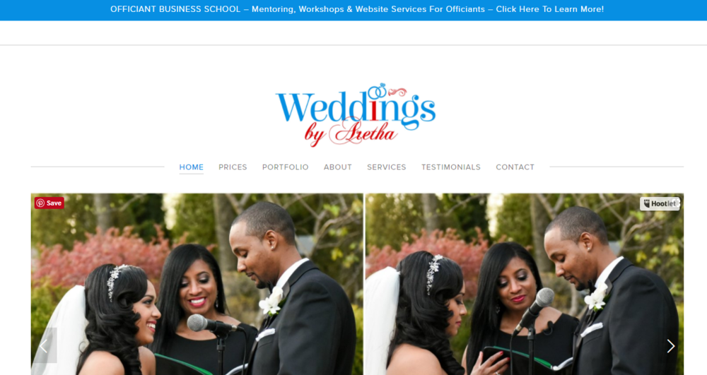Weddings By Aretha