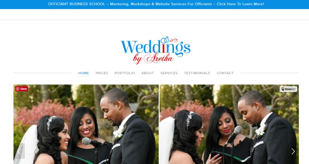 Weddings By Aretha