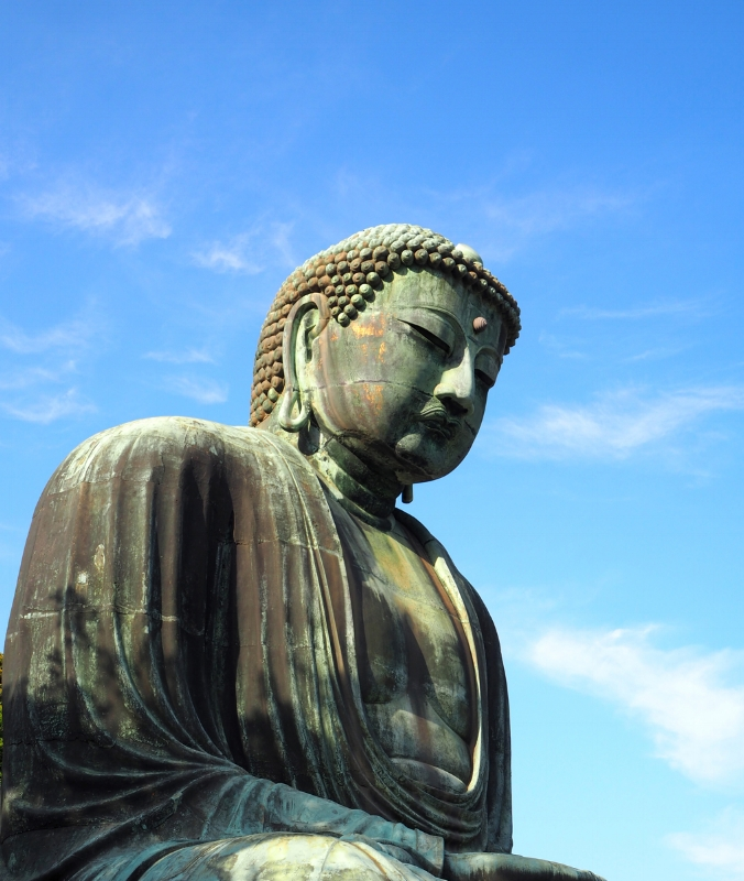 The giant Buddha at Kotoku-in