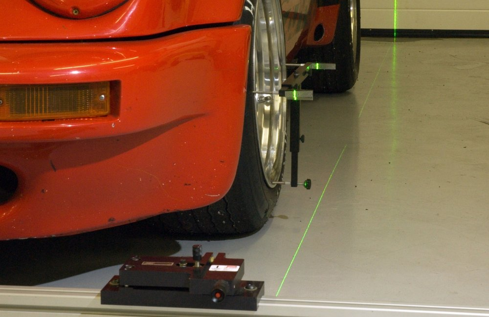 The Gift That Keeps On Giving  As each race approaches, it's normal to run short on time. Because of that, we find ourselves arriving to the track wondering how our car is set up for the weekend ahead. With our Triple Laser Alignment System, you save time and more importantly, know the exact setup of your car.