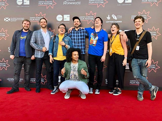 @edfilmfest with the MLiKM & IWH teams for their world premieres a few weeks back. Great finally seeing them on the big screen! 📽 . . . . . #eiff #eiff2018 #edfilmfest #edinburghfilmfestival #shortfilm #filmfestival #redcarpet #cinematographer #dop #directorofphotography #creativescotland #sftn #scottishfilm #scottishshorts #bfi #premiere #worldpremiere #cineworld #filmcrew #iwashere #mylonelinessiskillingme