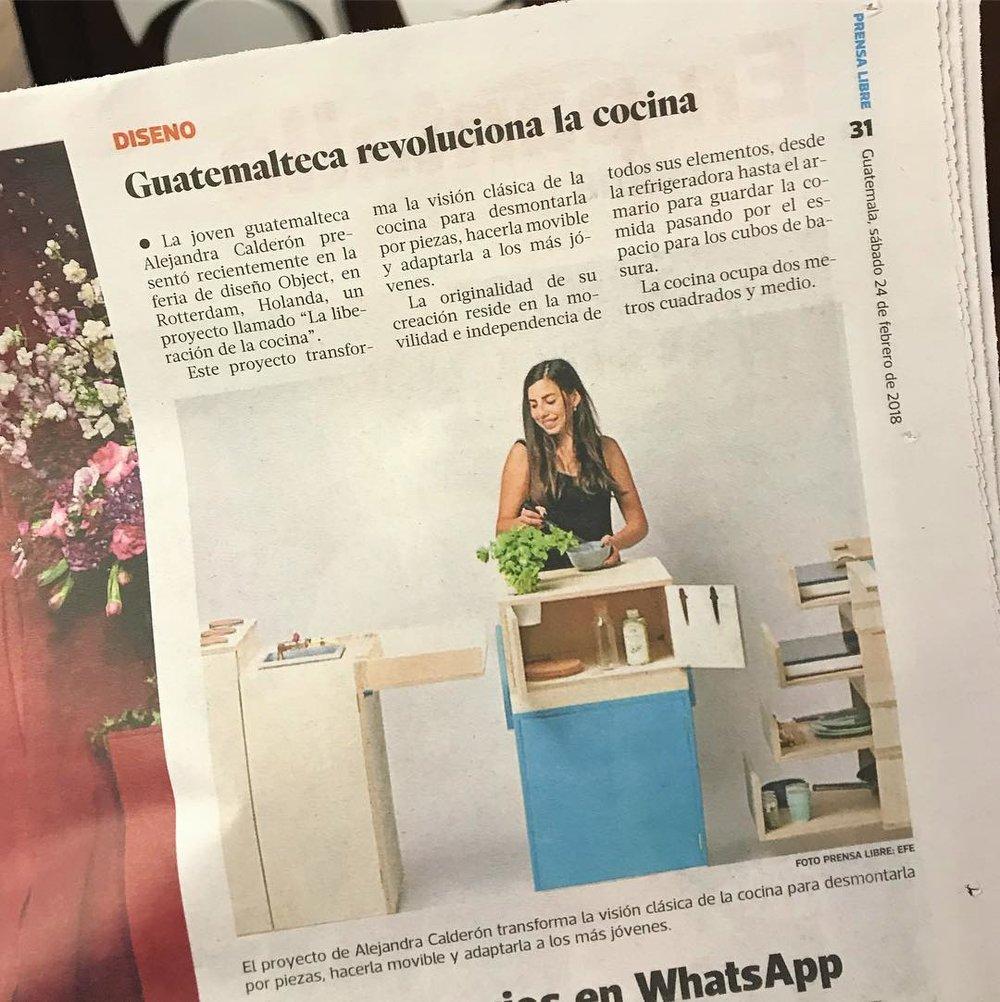 Prensa Libre   - Guatemala, 2018