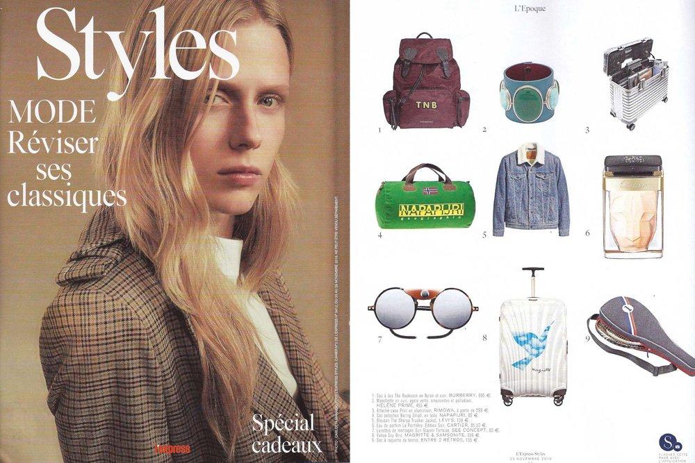 L'EXPRESS STYLES - NOV 2016