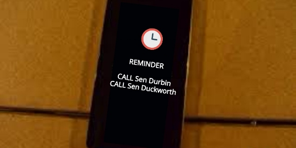 After you've signed up, be sure to set a reminder on your phone. Let's get dialing!