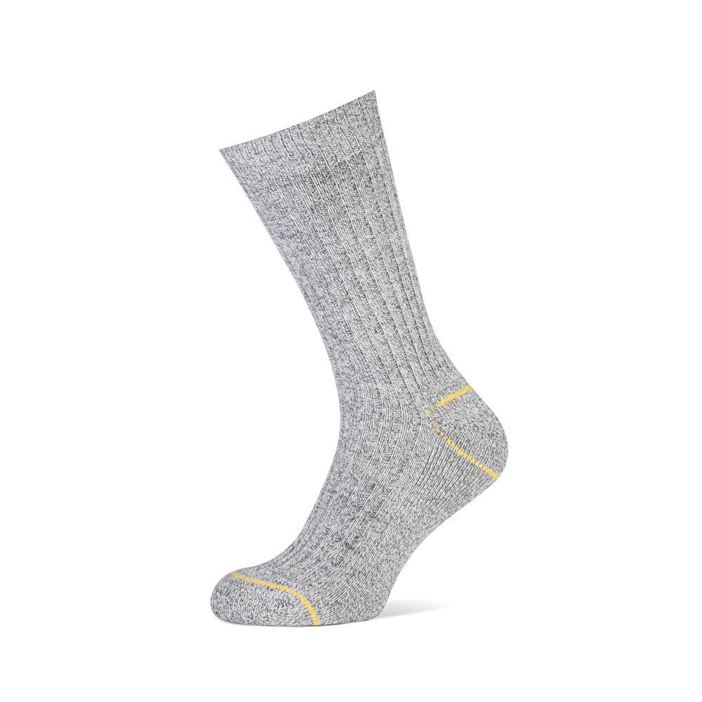 Norwegian   • Comfortabele niet-voelbare teennaad • Sterke sok met badstofzool  - Door toevoeging van wol extra warm  - Schokdempend •  Beschikbaar in 1 kleur